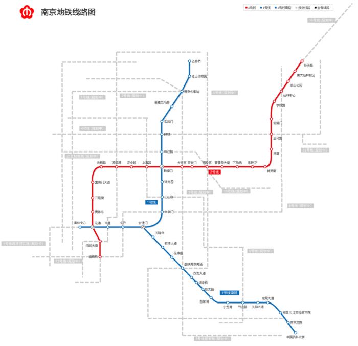 南京地铁5号线线路图图片